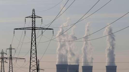La centrale nucléaire de Dampierre-en-Burly (Loiret).
