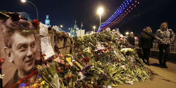 Boris Nemtsov a été assassiné à Moscou le 27 février.