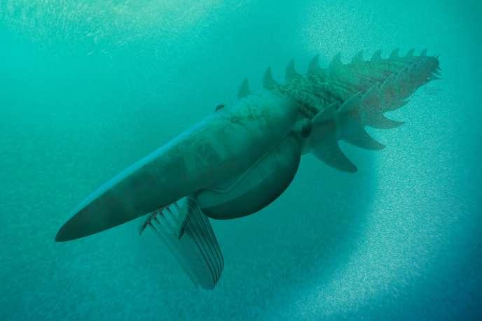 Voici à quoi pourrait avoir ressemblé la créature marine qui aurait été «l'une des plus grandes à vivre à cette époque» selon les chercheurs l'ayant découverte.