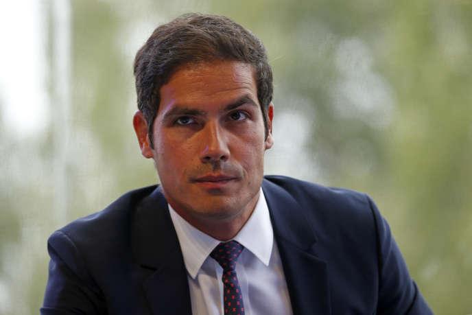 Mathieu Gallet, ex-président de l'INA, et actuel PDG de Radio France.