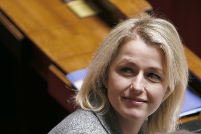 Barbara Pompili, à l'Assemblée nationale, le 11 février.
