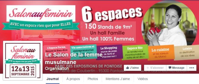 Page Facebook de l'évènement