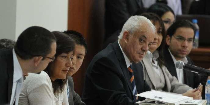 Le procureur général de l'Equateur, Galo Chiriboga, le 1er octobre 2013.