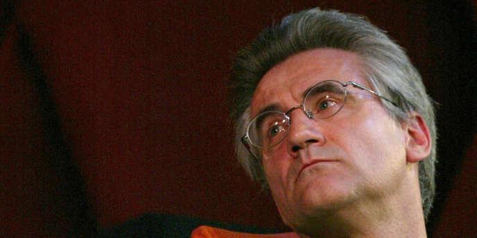Le philosophe André Comte-Sponville en mars 2004