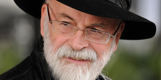 Terry Pratchett, le 5 octobre 2010 à Birmingham.