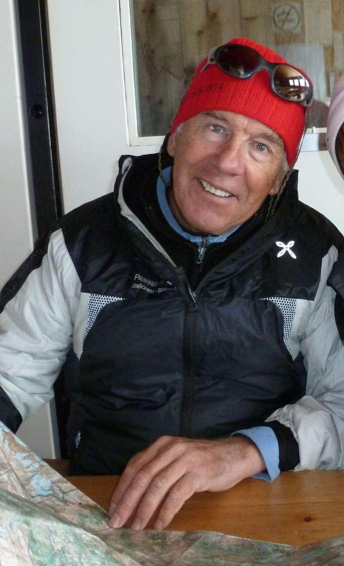 Le père Jacques Plassiard, aujourd'hui âgé de 70 ans, suit la Pierra Menta depuis vingt-sept ans.
