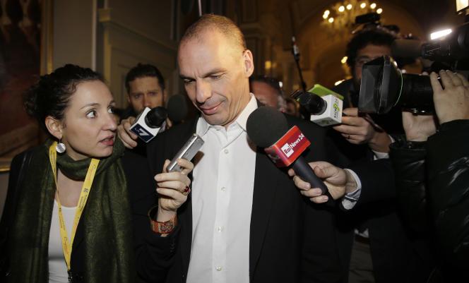 Yanis Varoufakis, le 14 mars à Cernobbio, en Italie.
