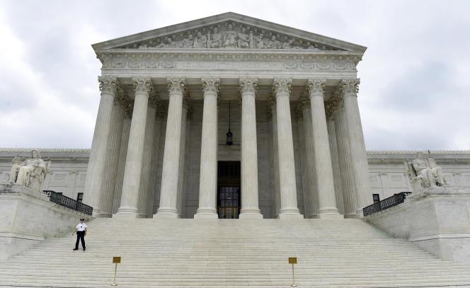 Le siège de la Cour suprême des Etats-Unis, à Washington.