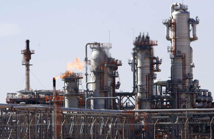L'usine de gaz de la Sonatrach située à Krechba, à 1200 km au sud d'Alger