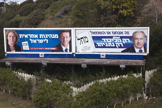 A Tel-Aviv, le 15 mars.