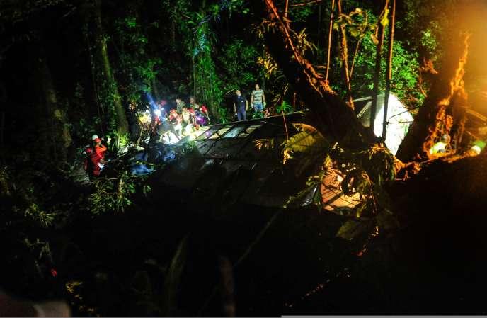 Au moins 49 personnes sont mortes dans l'accident d'un autocar au Brésil, samedi14mars.