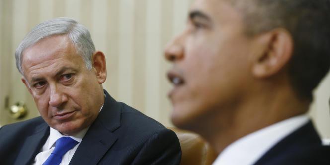 Benyamin Nétanyahou et Barack Obama à la Maison  Blanche, en septembre 2013.