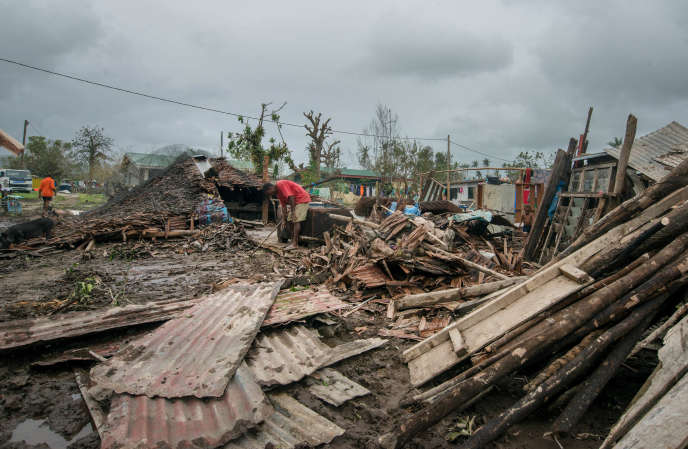 L'archipel de Vanuatu a été balayé par le cyclone Pam, avec des vents soufflant à plus de 300km/h, dans la nuit du 13 au 14mars.