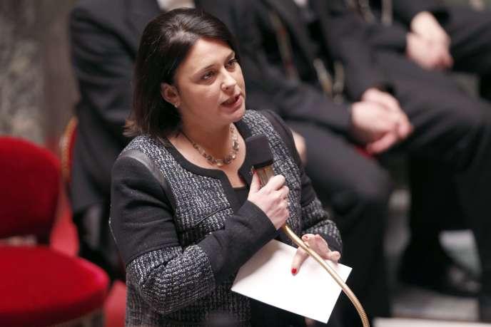 La ministre du logement, Sylvia Pinel, à l'Assemblée nationale, le 17 mars.