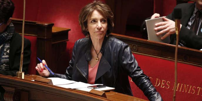 La ministre de la santé, Marisol Touraine, le 17 mars à l'Assemblée nationale.