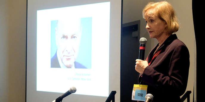 Lyn Ulbricht, le lundi 17 mars 2015 à Austin (Texas), à l'occasion d'une conférence du festival South by Southwest.