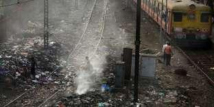 Monticules de déchets, à Bombay (Inde), le 26 janvier 2015.
