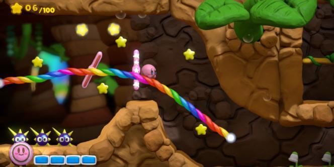 Image de Kirby et le pinceau arc-en-ciel, dont la sortie est prévue le 8 mai 2015 en Europe.