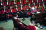 Lesmagistrats dela Cour d'appel de Paris lors d'une cérémonie des vœux, en 2011.