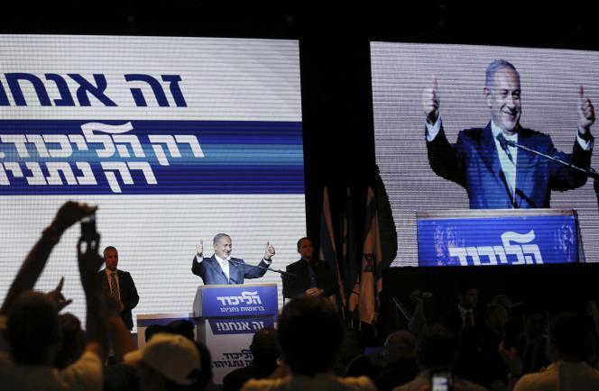 Après le dépouillement de 99% des bulletins de vote, le Likoud de Benyamin Nétanyahou obtient 29sièges à la Knesset.