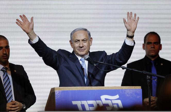 Benyamin Nétanyahou, à Tel-Aviv le 18mars.