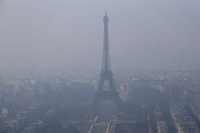 Paris a connu un pic de pollution mercredi 18 mars.