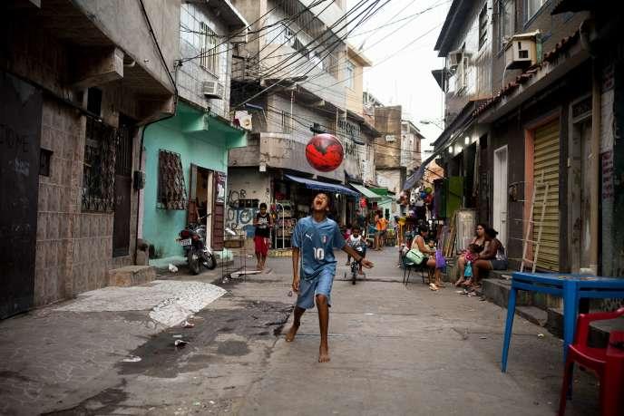 Favela à Rio.