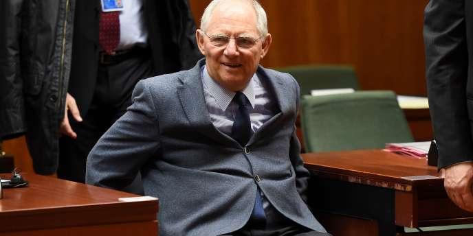 Le ministre des finances allemand, Wolfgang Schäuble, le 10mars.