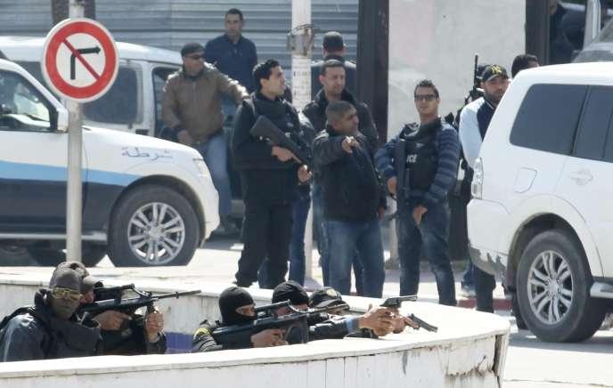 Une attaque a eu lieu au Musée du Bardo le 18mars.