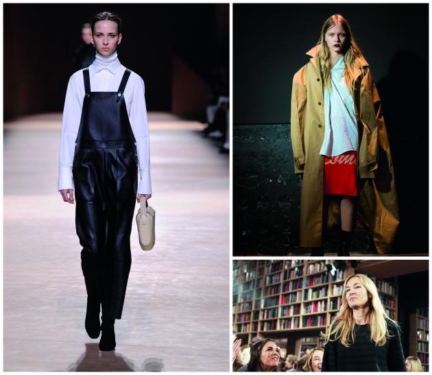 Cette dernière saison, deux stratégies commerciales ont coexisté. Hermès (à gauche) et le collectif Vêtements (en haut à droite) ont opté pour la discrétion, voire l'anonymat de leurs créateurs. Sonia Rykiel, en revanche, a choisi la couverture médiatique de sa styliste Julie de Libran (en bas).