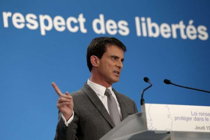 Manuel Valls, le 19 mars 2015