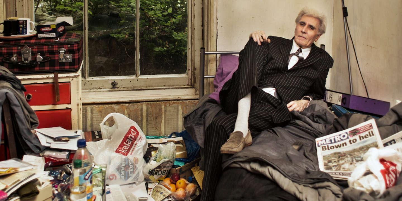 George Fowler dans sa chambre, à Londres, le 22 mai 2013.