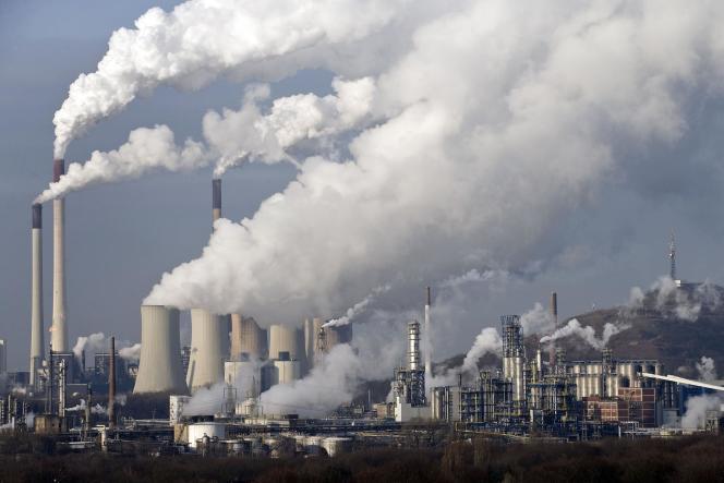 La centrale à charbon de Gelsenkirchen, en Allemagne, le 16 décembre 2009.