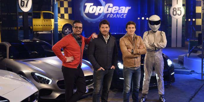 L'émission présentée par Yann Larret-Menezo (gauche) Philippe Lellouche et Bruce Jouanny a rassemblé près d'un million de téléspectateurs.