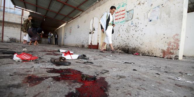L'Etat islamique a revendiqué les attaques qui ont fait au moins 142 morts le 20 mars à Sanaa.