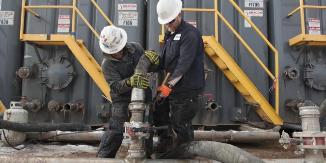 Pipeline dans le Dakota du Nord, le 12 novembre 2014.