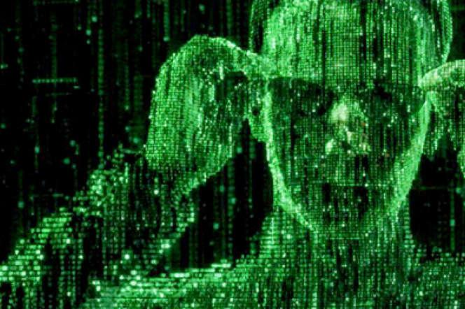 Image extraite du film «Matrix».