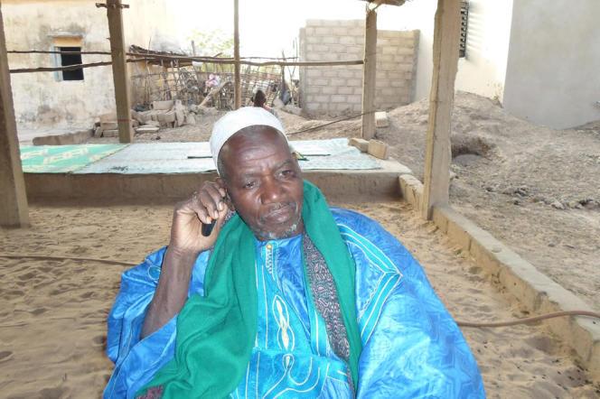 Ibrahima Ly, le chef du village Ndouloumadji.