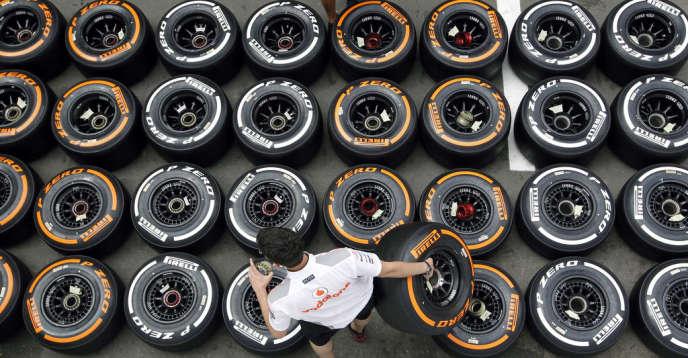 Des pneumatiques Pirelli