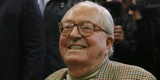 Jean-Marie Le Pen, le 22 mars à Nanterre.