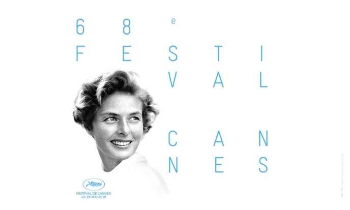 L'affiche de la 68e édition du Festival de Cannes (du 13 au 24 mai 2015).