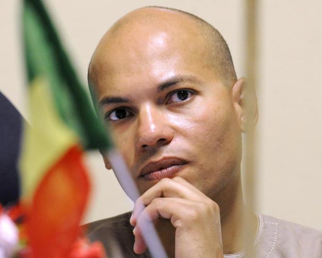 Karim Wade, le 30 avril 2008.