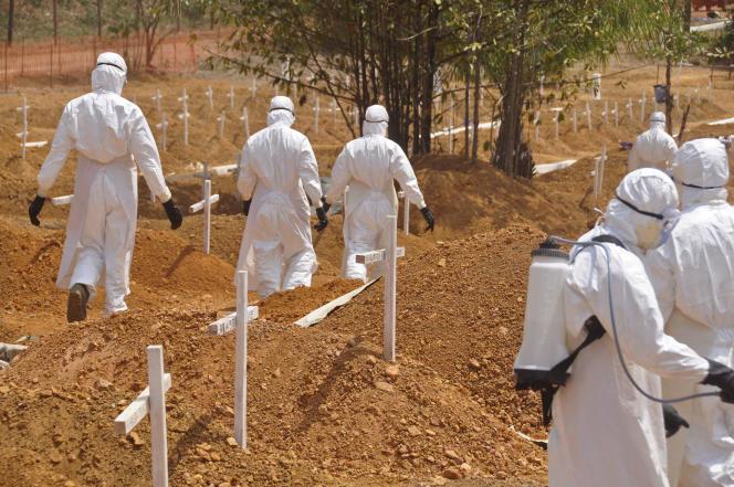 Dans la banlieue de Monrovia (Liberia) le 11 mars. Un nouveau malade infecté par le virus Ebola y a été identifié le 20 mars après un mois sans nouveau cas.
