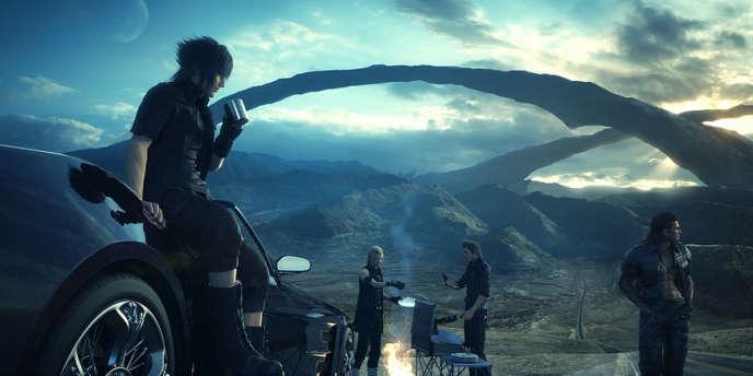Le début de Final Fantasy XV Episode Duscae