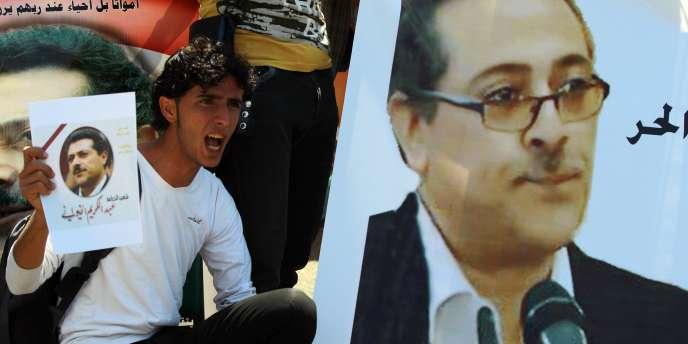 Le journaliste Abdel Karim Al-Khiwani a été assassiné par Al-Qaida, le 18 mars à Sanaa.