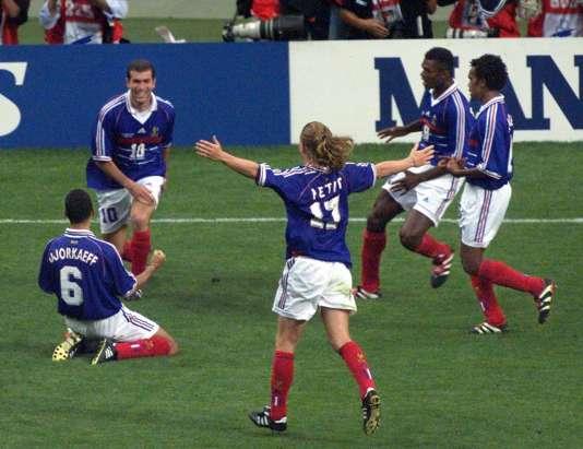 Zidane, 12 juillet 1998.