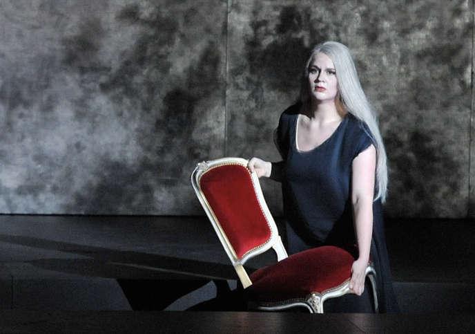 La contralto Maria Radner au Festival de Salzbourg en mars 2010.