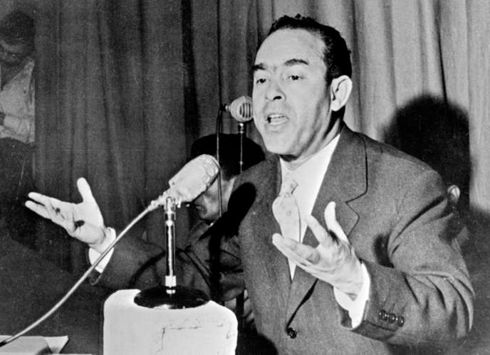 Ben Barka, en janvier 1959 à Casablanca.