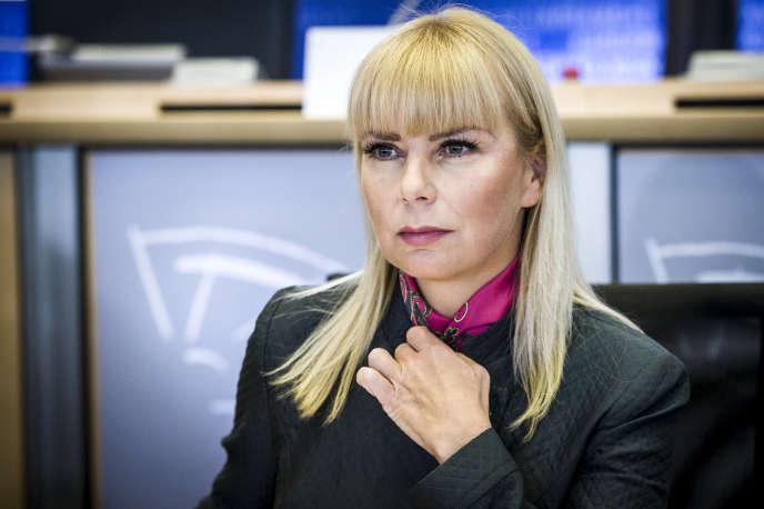 Elzbieta Bienkowska, commissaire européenne au marché intérieur, en octobre 2014.