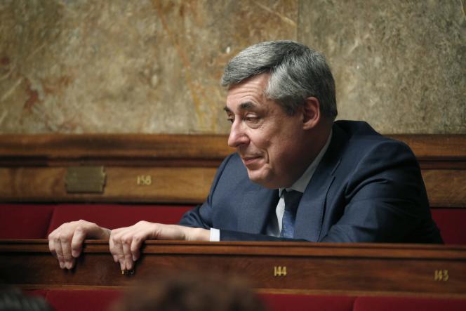 Henri Guaino à l'Assemblée nationale le 24 mars 2015.
